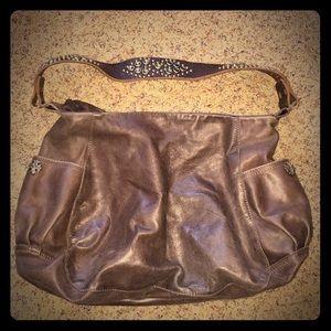 Tylie Malibu leather shoulder bag